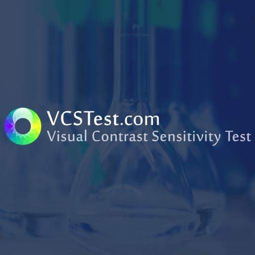 visual contrast sensitivity testing