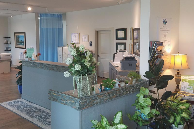 appalachian wellness center office reception area