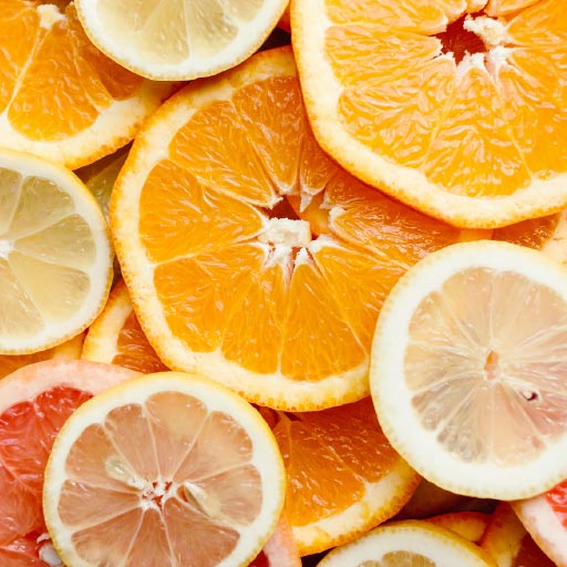 orange grapefruit high histamine slices