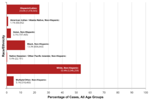 Cases by Race Ethnicity Chart